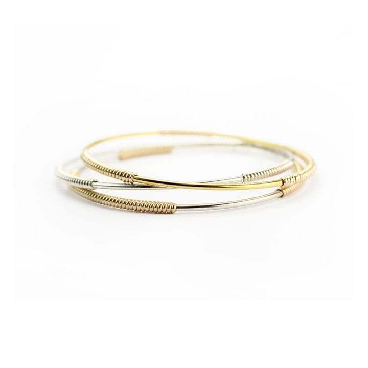 Skinny Wrapped Signature Bangle