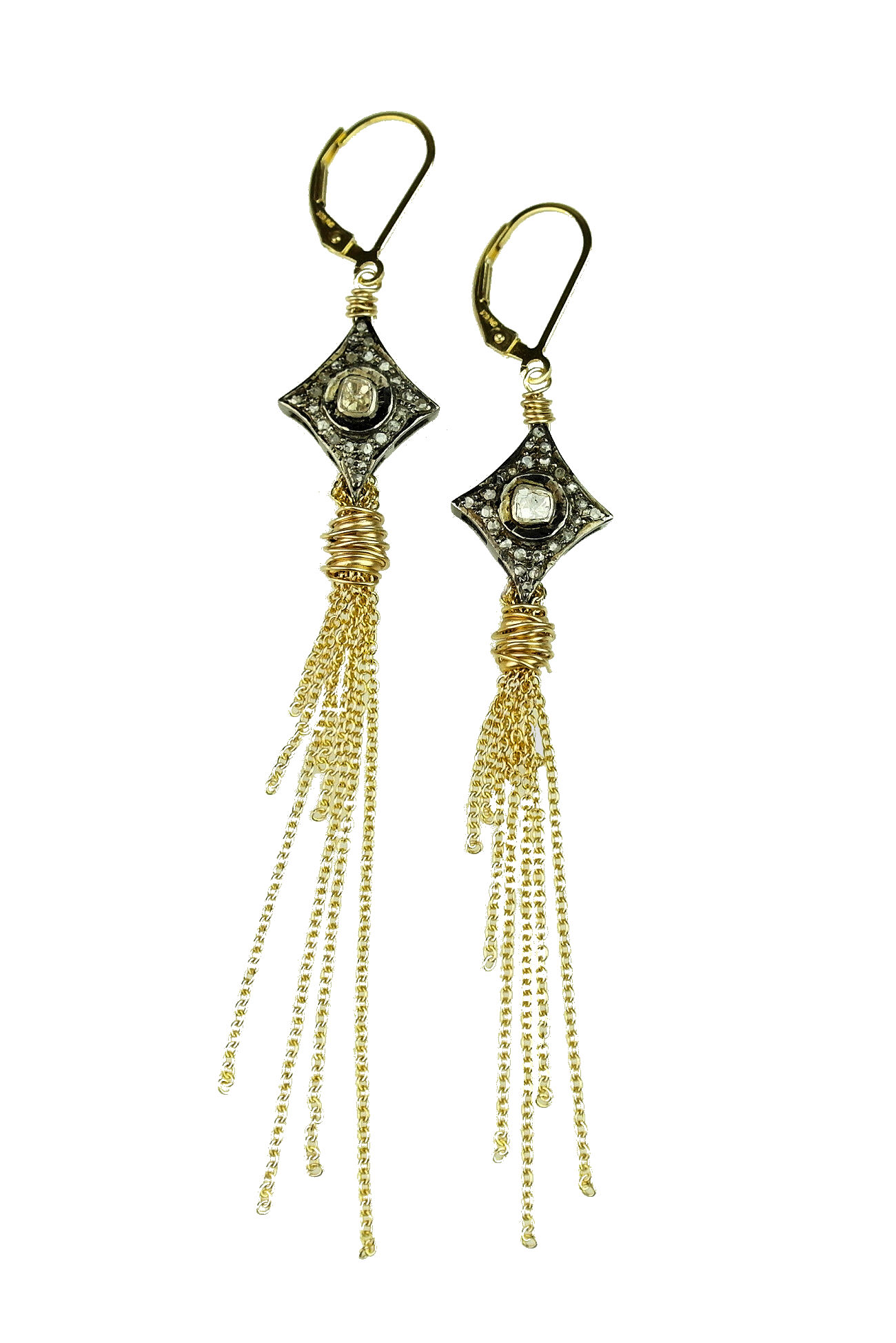 in champagne earrings tassle modalist tassel at product shop madewell