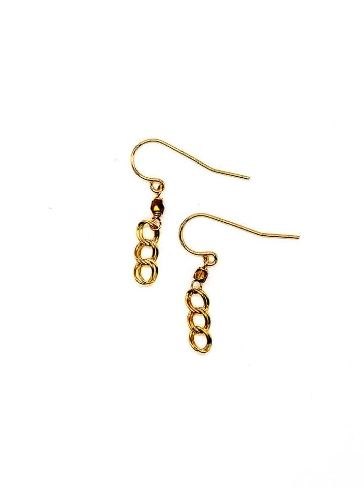 curb linear earrings