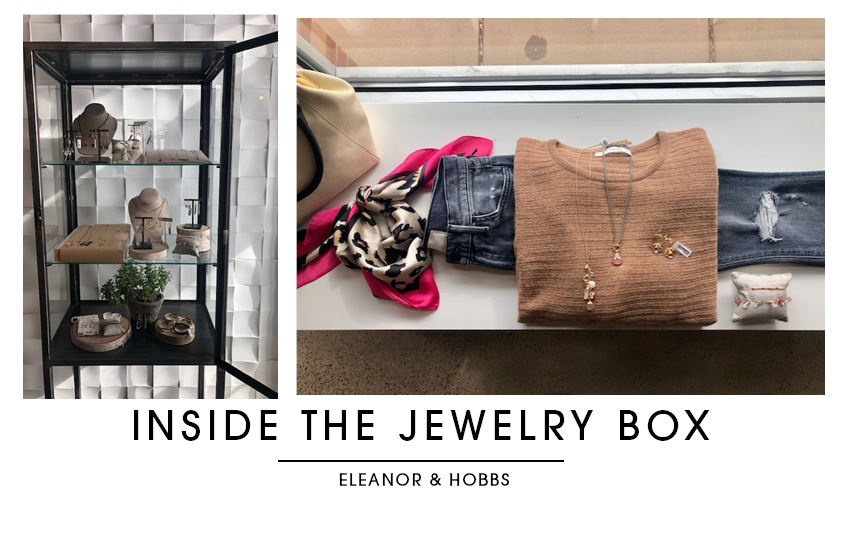 ELEANOR AND HOBBS BOUTIQUE JEWELRY BOX